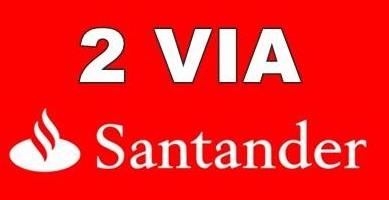 2 via Boleto Santander Segunda via Santander
